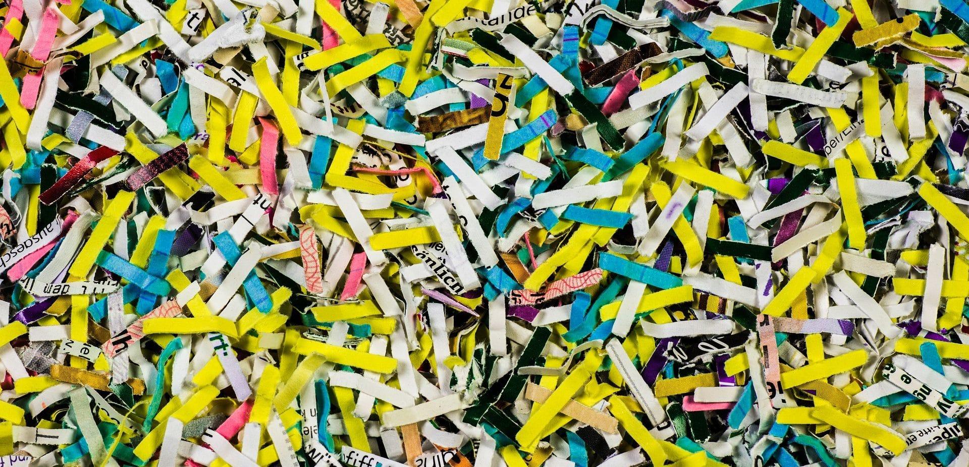 shredding process